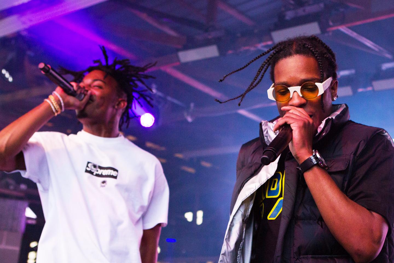 Playboi Carti and A$AP Rocky