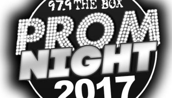 97.9 The Box Prom logo