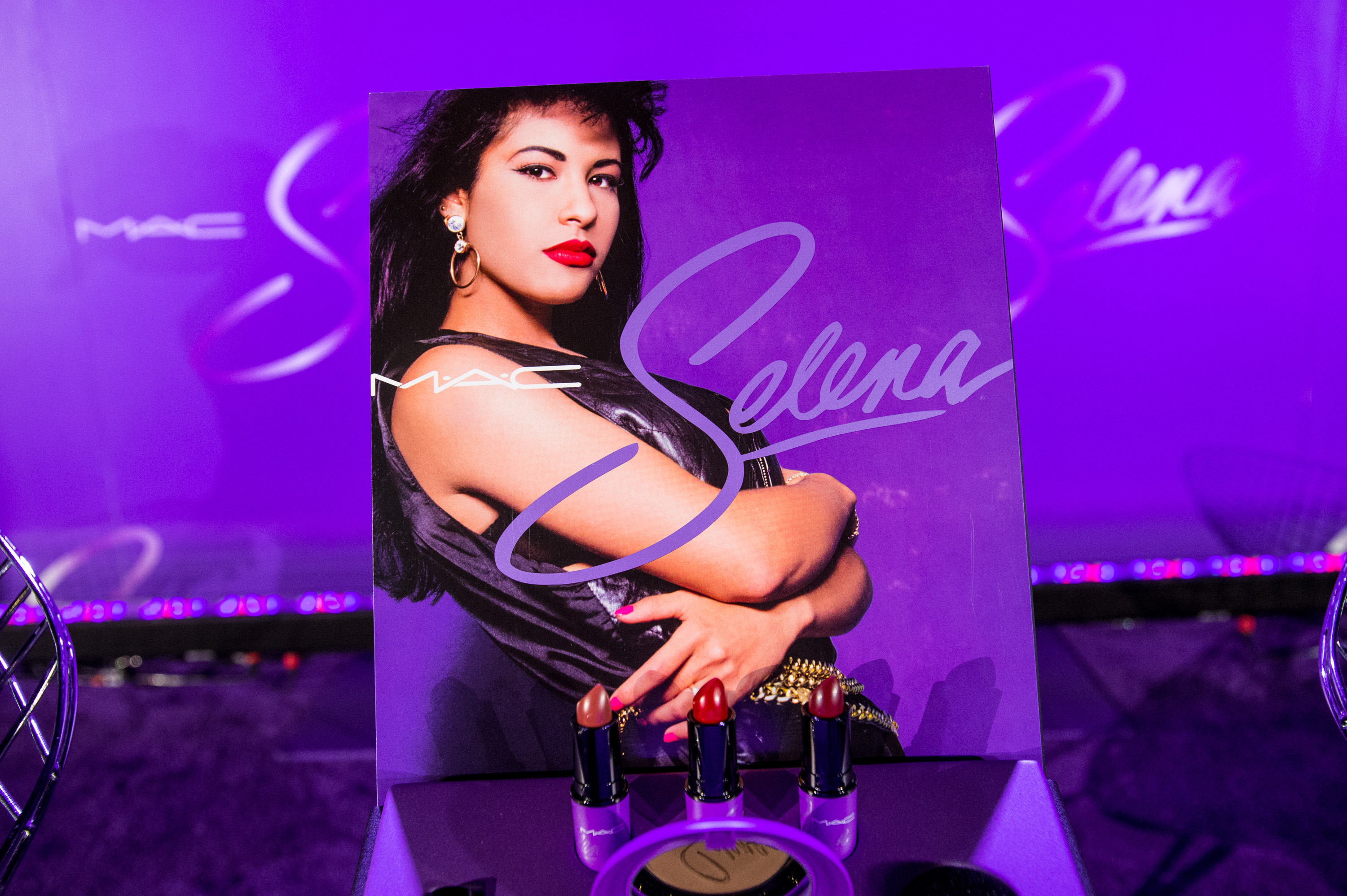 MAC Selena World Premiere, Corpus Christi TX - Press Conference and Media Welcome