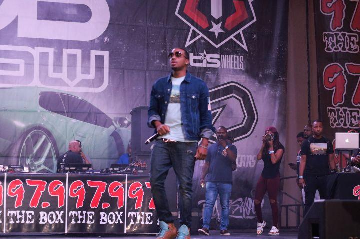 GT Garza, Baby Bash, Propain & More Perform 2017 Dub Car Show