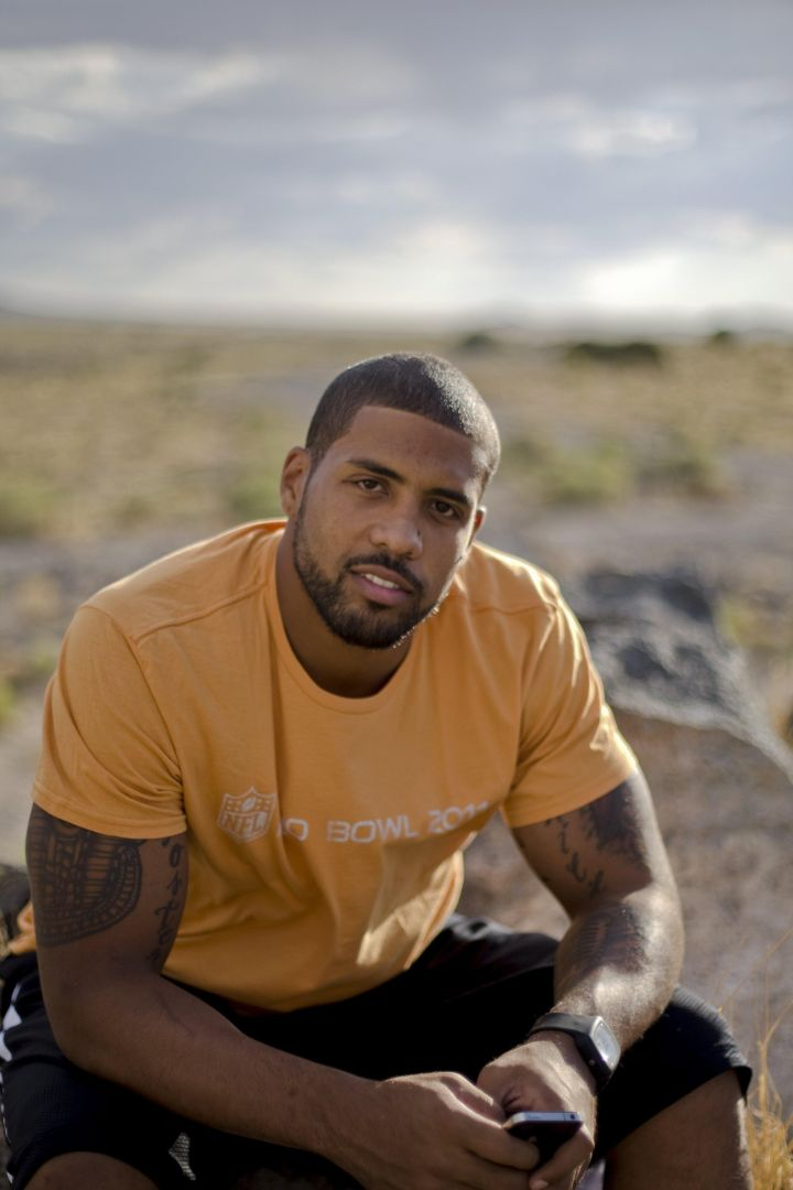 Arian Foster Portrait Session