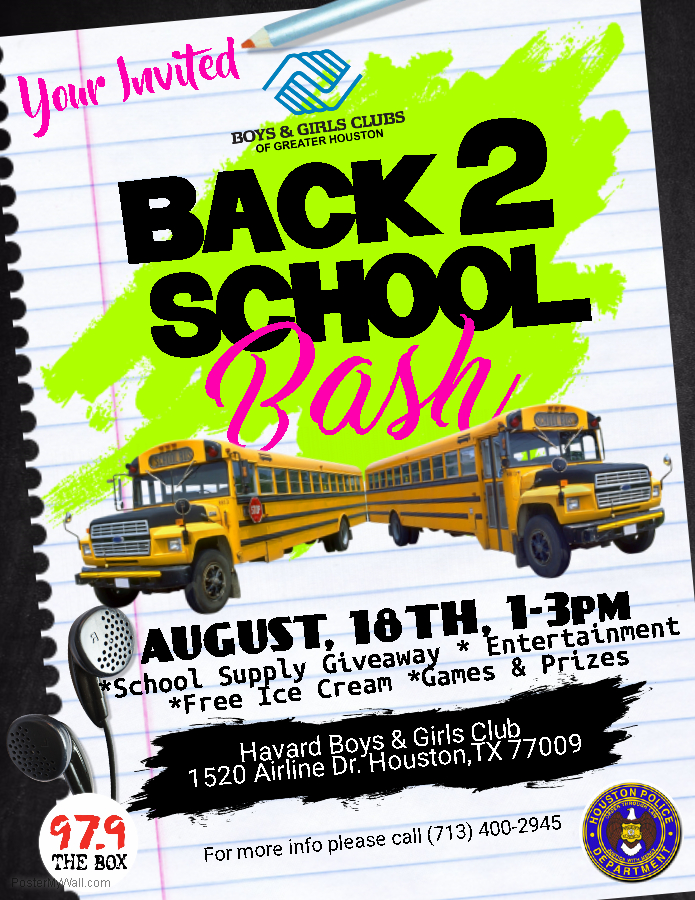 Boys & Girls Club Back 2 School Bash