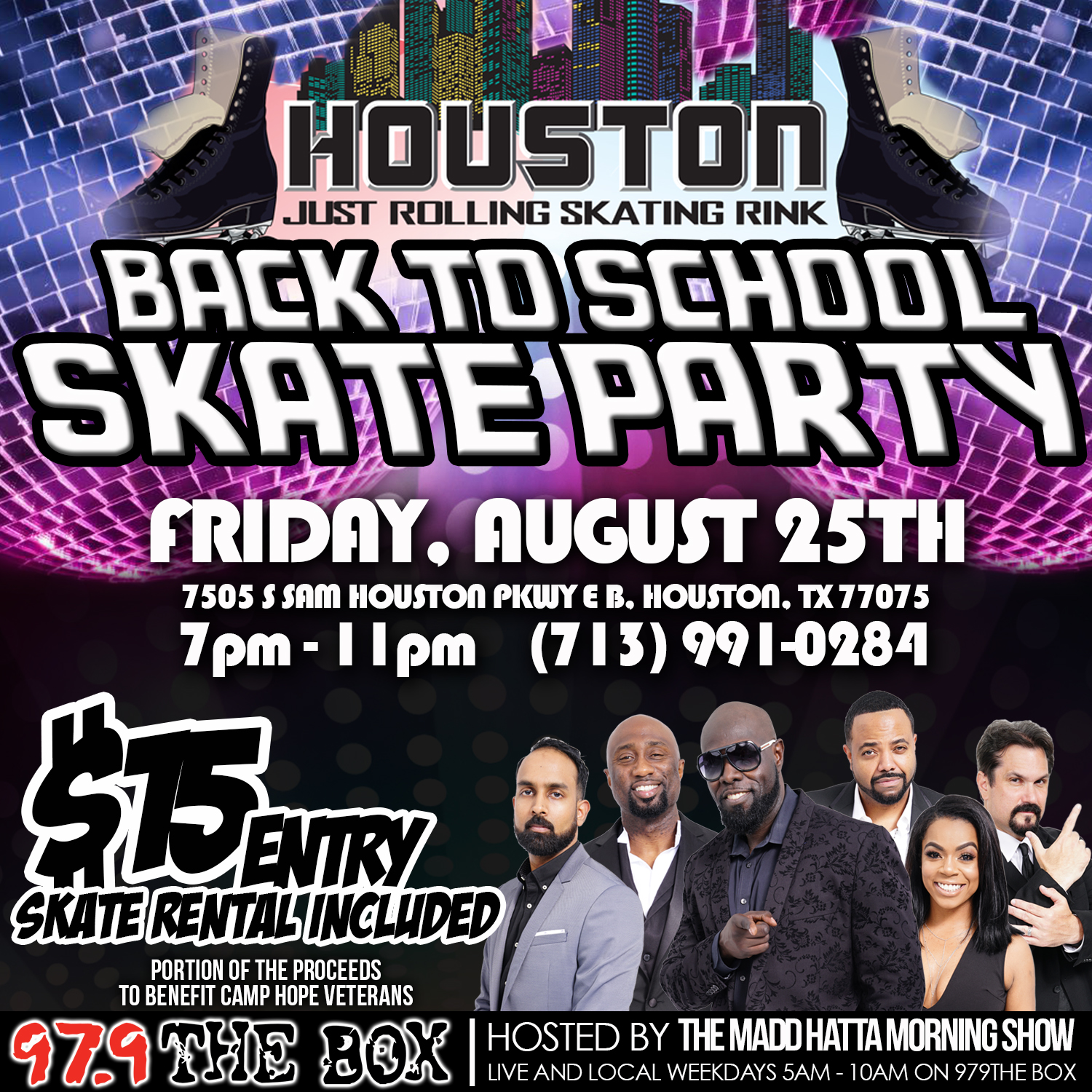 Skate Party graphic