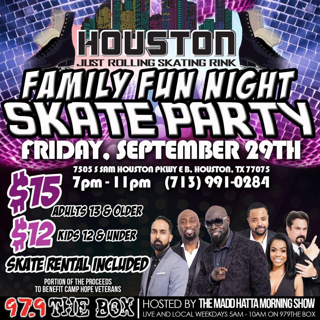 BACK TO SCHOOL SKATE PARTY
