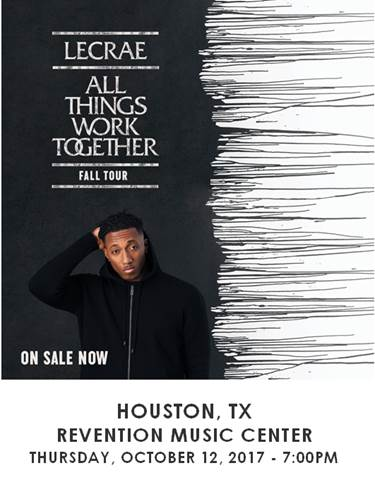 Lecrae - All Things Work Together Tour