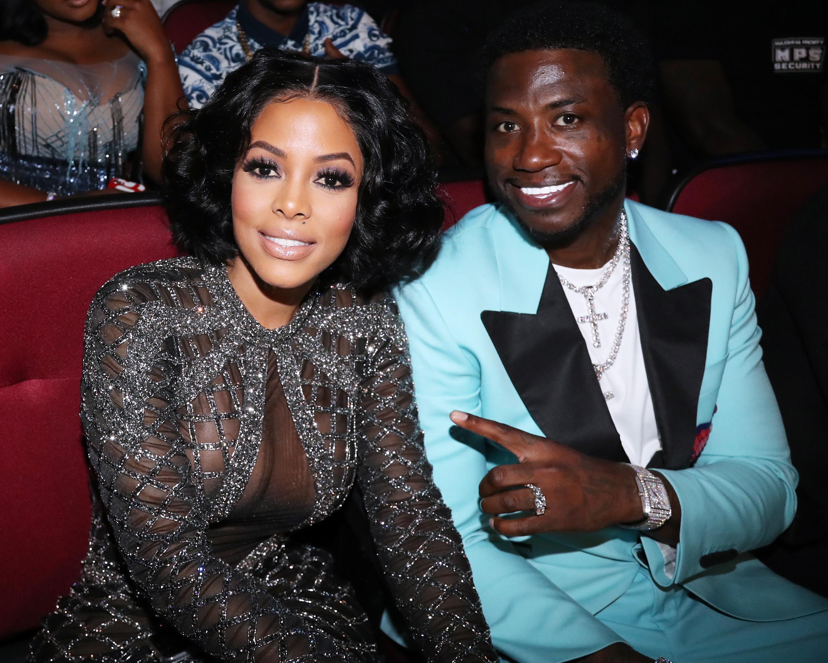 Husband and wife: Gucci Mane and Keyshia Ka'oir