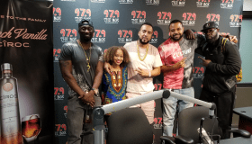 French Montana with the Madd Hatta Morning Show