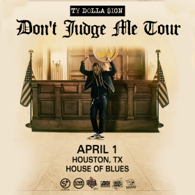 Ty Dolla $ign - Don't Judge Me Tour