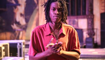 Daniel Caesar Performs At Fonda Theatre