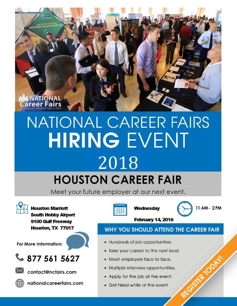 2018 National Career Fairs Houston