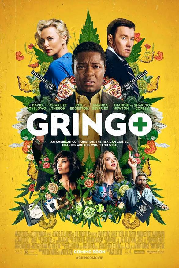 2018 Gringo Movie Poster