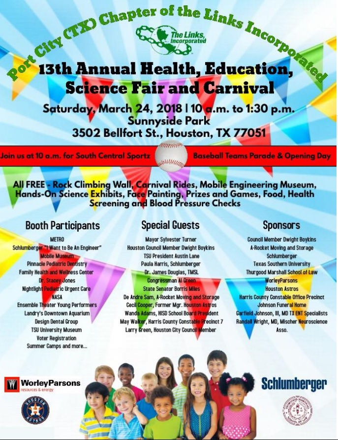 13th Annual Health, Education, Science Fair and Carnival