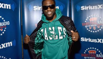Kevin Hart Live on Barstool Radio on SiriusXM at Super Bowl LII