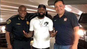 Kiotti, Troy Finner and Art Acevedo Discussing Stop The Violence
