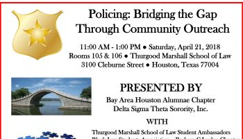 Policing: Bridging the Gap Through Community Outreach