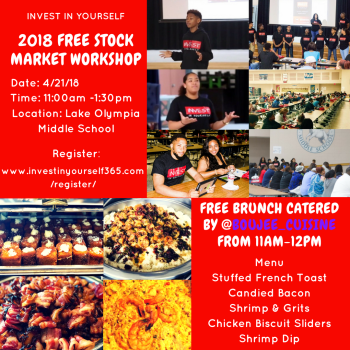 Invest In Yourself 2018 Free Stock Market Workshop
