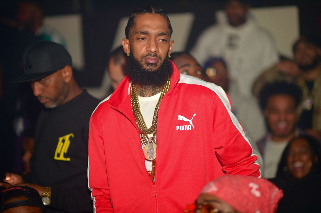 Nipsey Hussle Hosts Goldroom