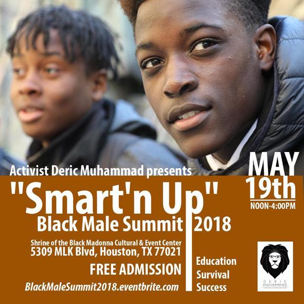 "9th Annual ""Smart 'n Up"" Black Male Summit"