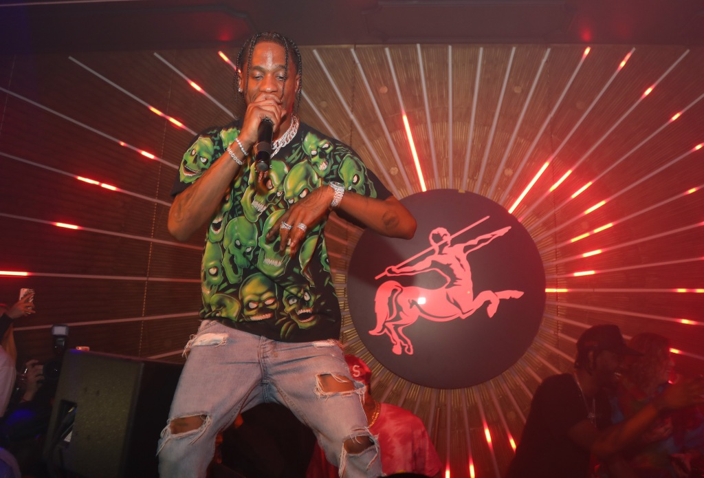 MVP Weekend with Travis Scott at Avenue Los Angeles presented by Remy Martin