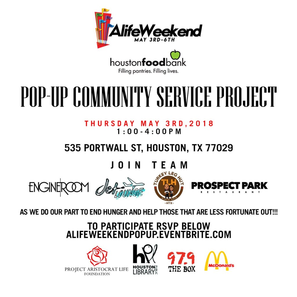 A-Life Weekend Community Service
