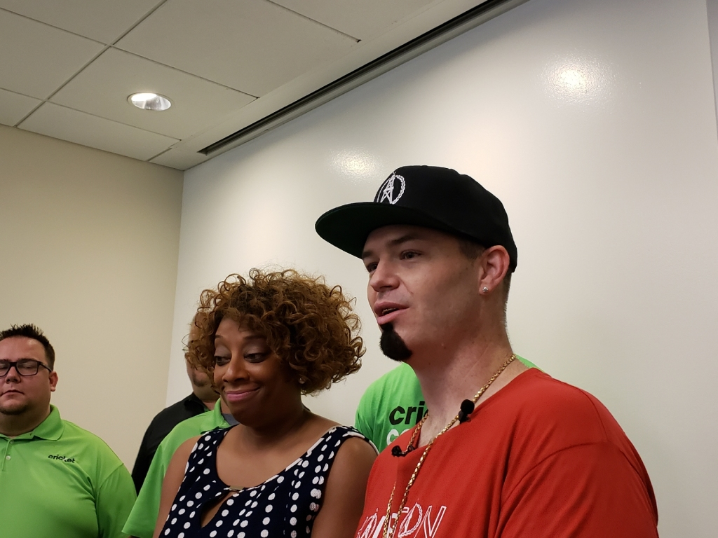 Paul Wall And Dr. Bernada Baker