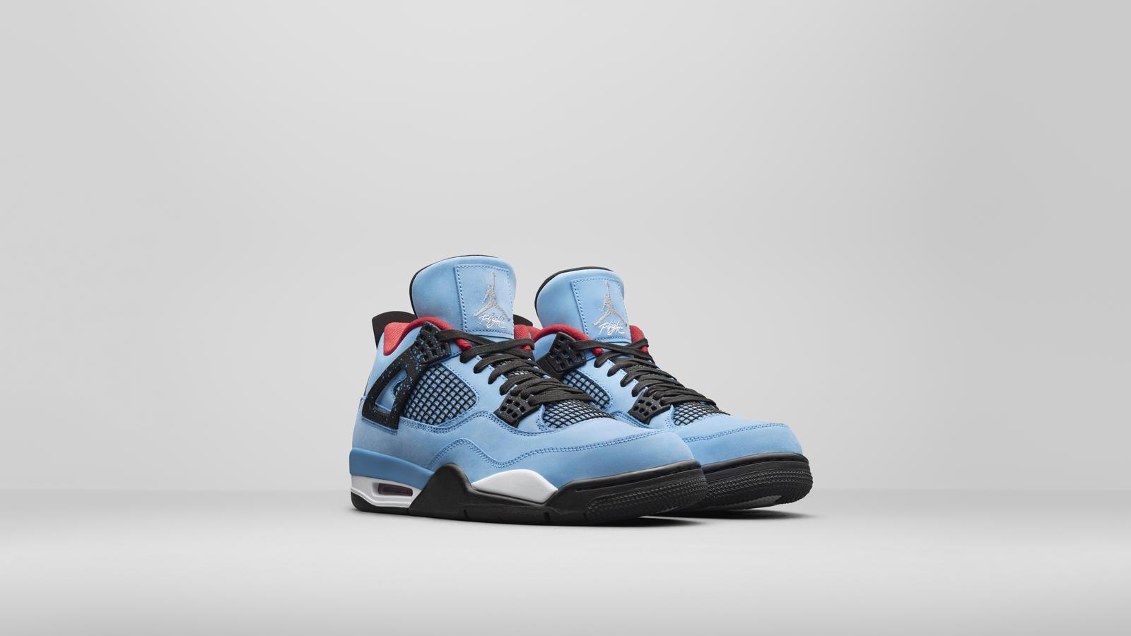 "SNEAKERBOX: Travis Scott's Air Jordan 4 ""Cactus Jack"" | 97.9"