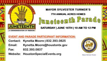 Acres Homes Juneteenth Parade