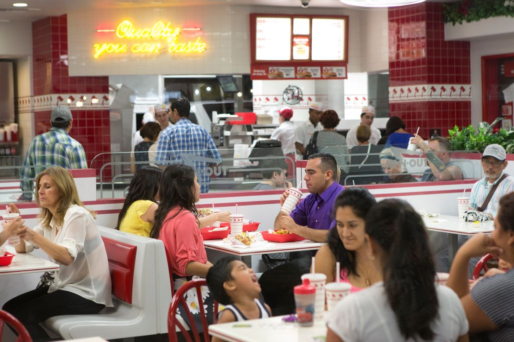In-N-Out Fastfood-Restaurant in Las Vegas