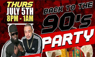 Back In The Day 90's Party