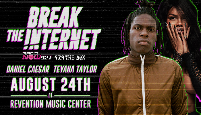 Break The Internet Concert Flyer