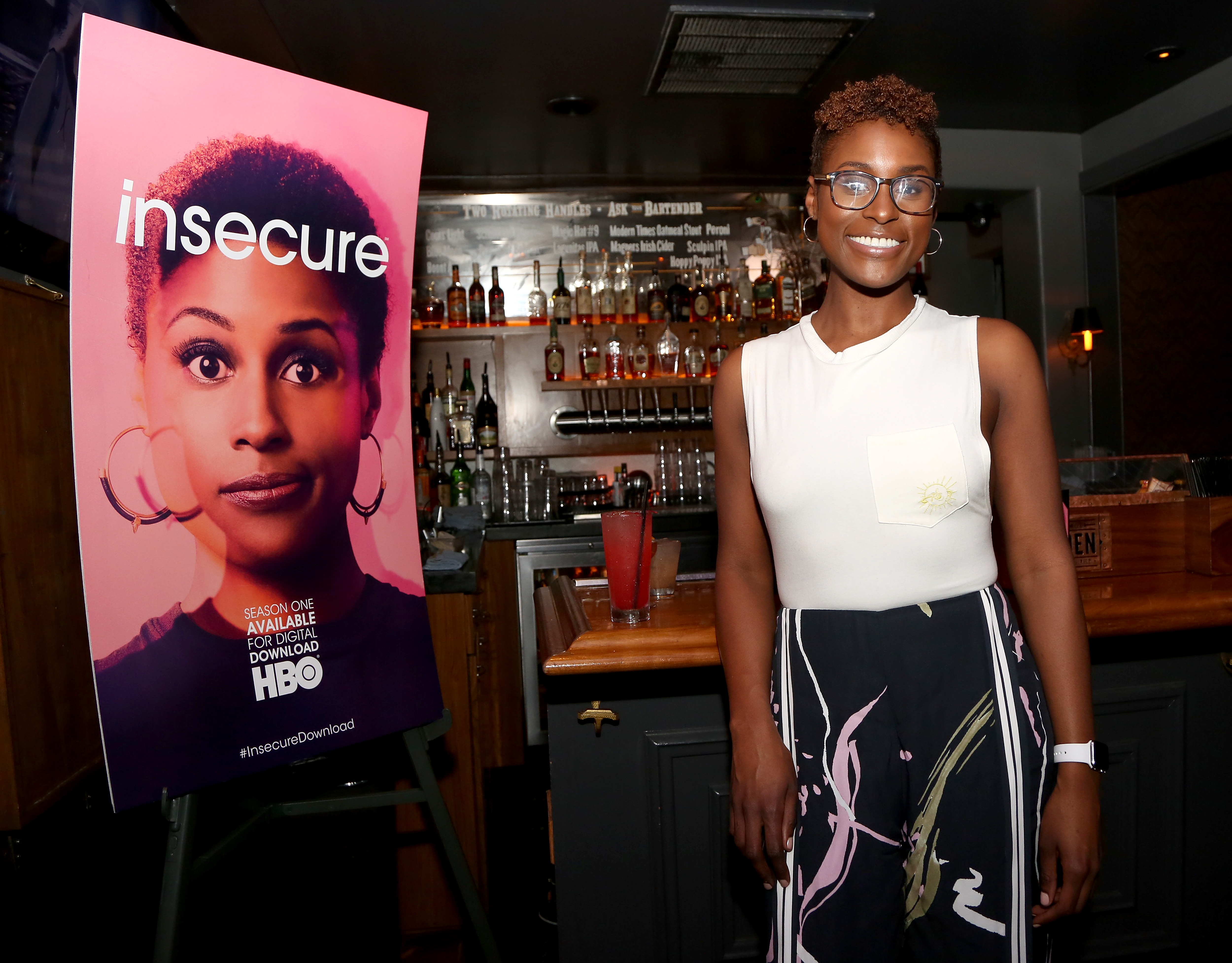 Issa Rae Attends HBO's Insecure Takeover at West Hollywood's The Den on Sunset in Celebration of Digital Download Release