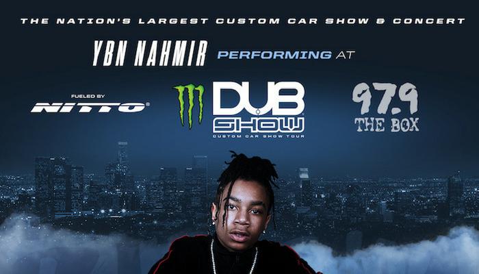 YBN Nahmir Dub Car Show 2018
