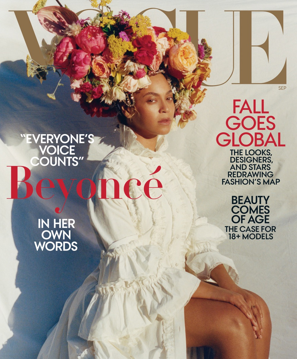 Beyoncé Vogue magazine September 2018