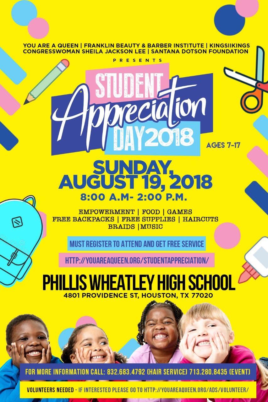 Student Appreciation Day 2018