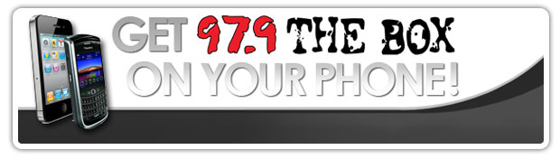 97.9 The Box Mobile App Banner