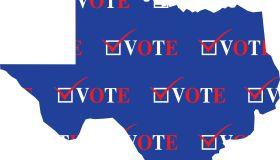 Texas Vote Map