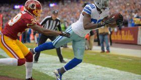 The Dallas Cowboys play the Washington Redskins