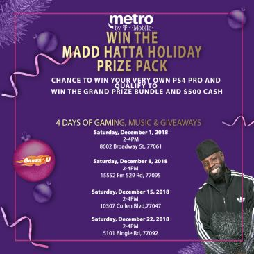 MetroPCS Holiday Gaming Giveaway | 97 9 The Box