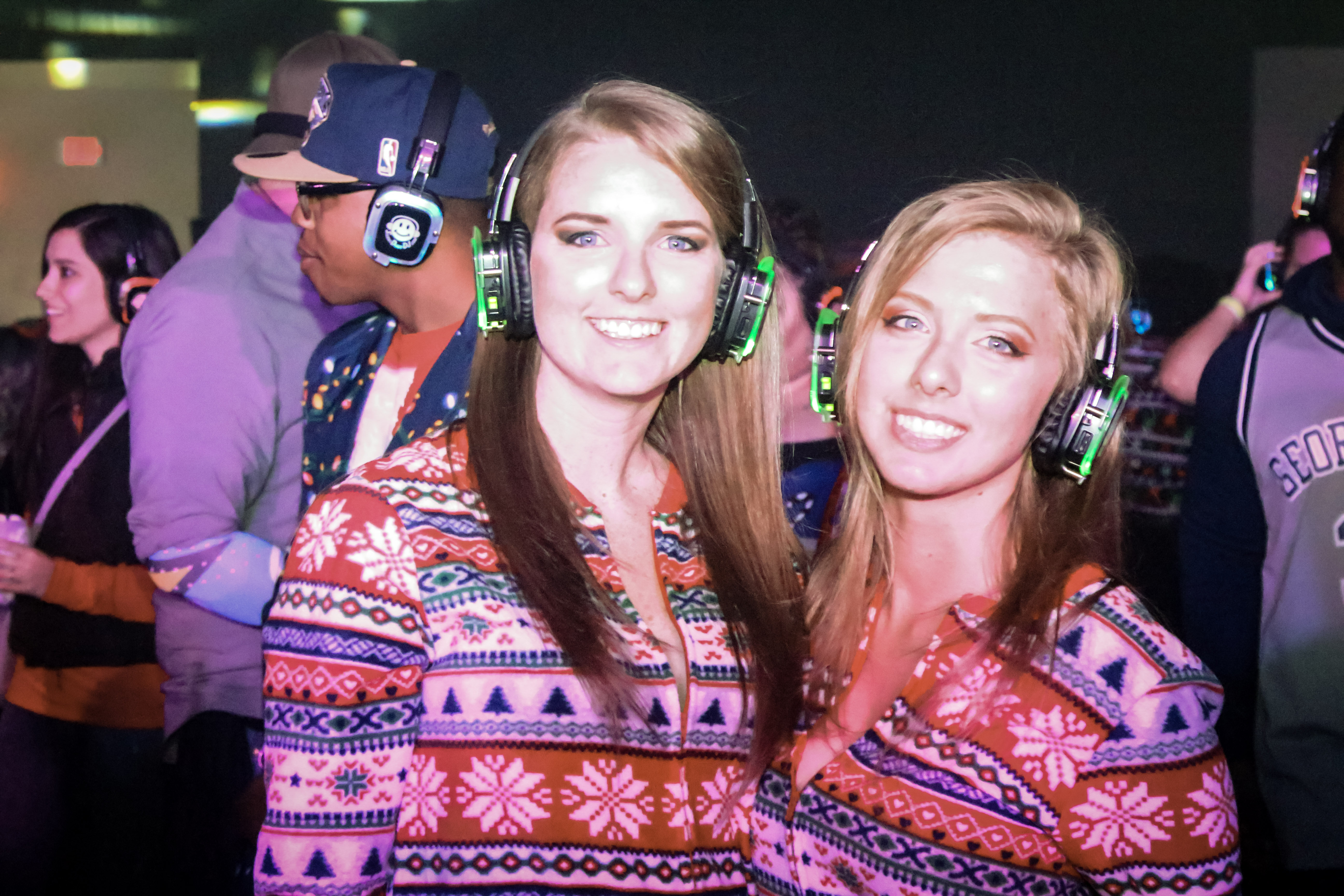 Not So Silent Night Silent Headphone Party