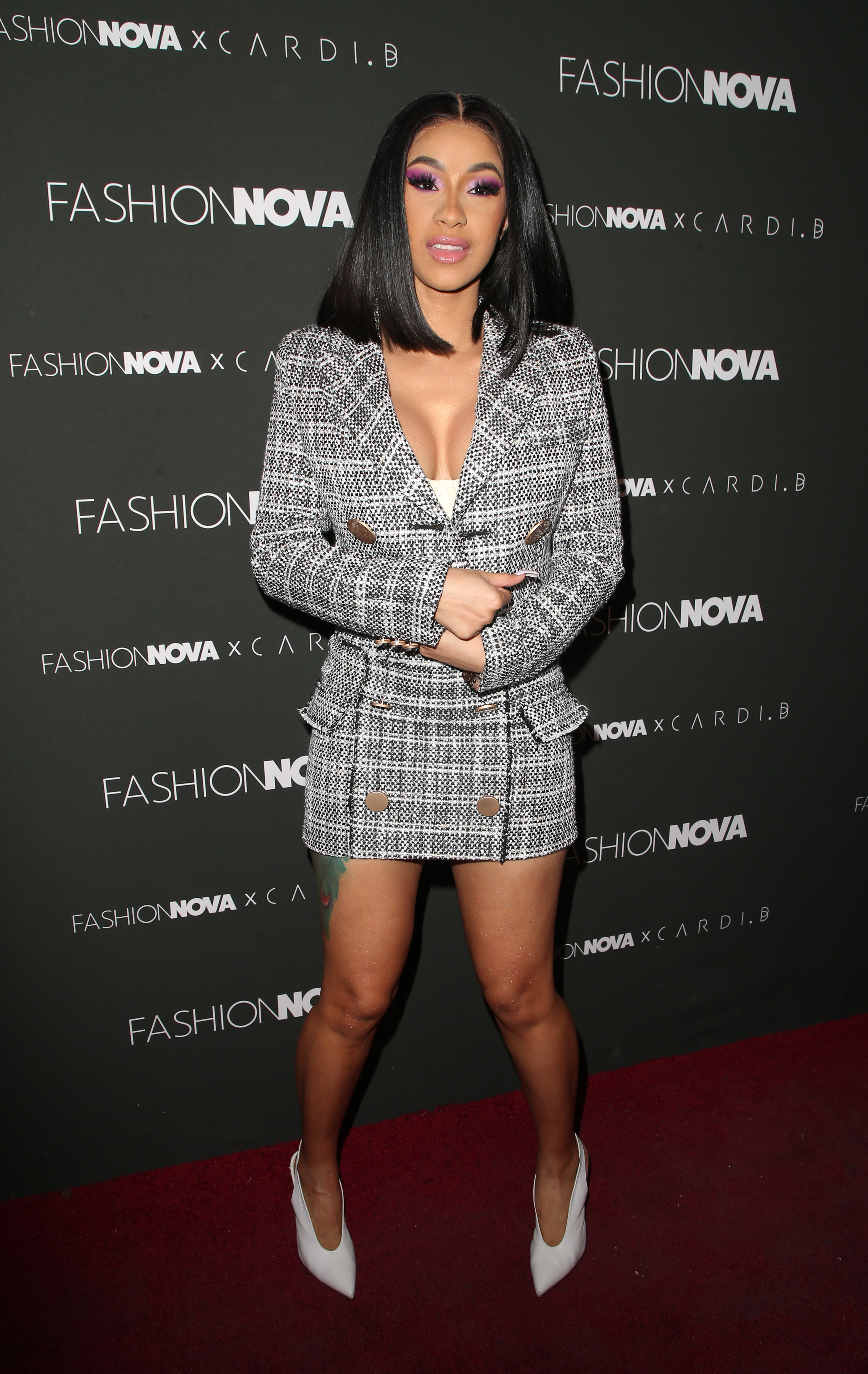 Fashion Nova x Cardi B Collaboration Launch Event