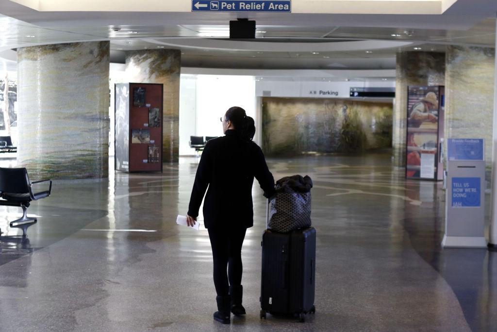 U.S.-HOUSTON-AIRPORT-TERMINAL CLOSE