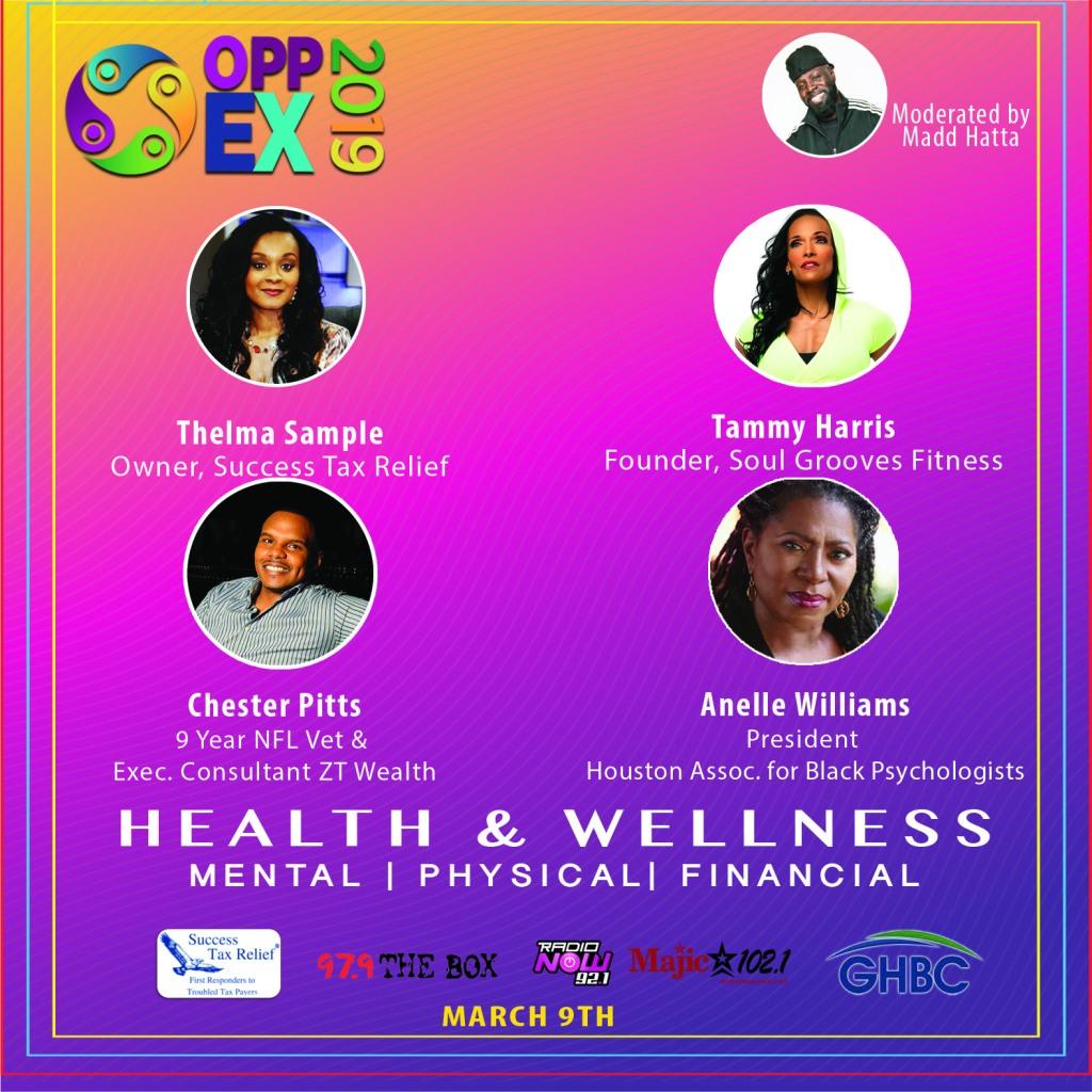 Opp Ex Health & Wellness Panel