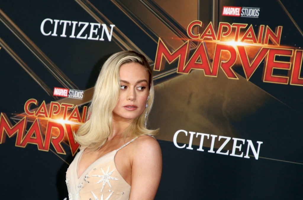 "The world premiere of Marvel Studios' ""Captain Marvel,"""