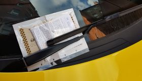 Luxury Cars Get Parking Ticket