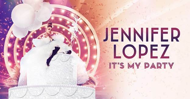 Jennifer Lopez It's My Party Promotional Flyer