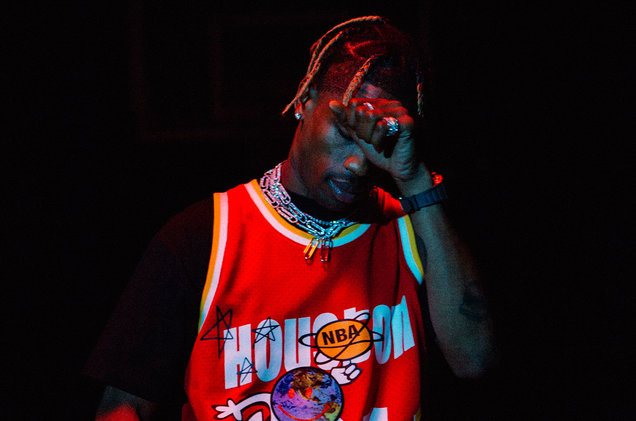 Travis Scott x Mitchell & Ness