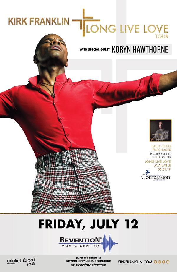 Kirk Franklin - Long Live Love Tour