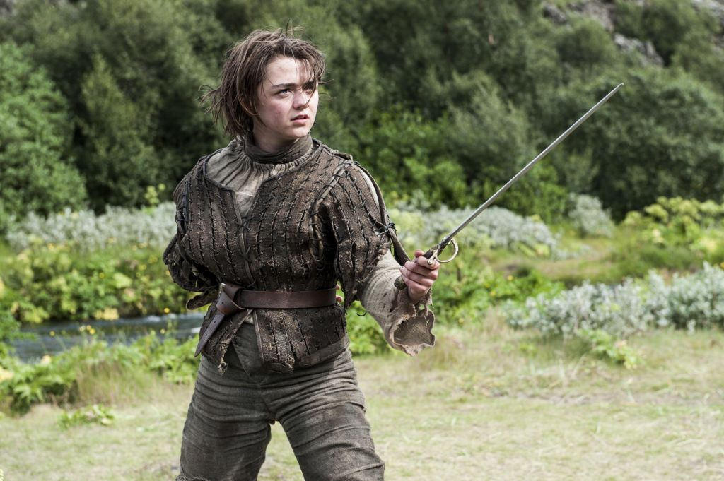 Maisie Williams - Arya Stark