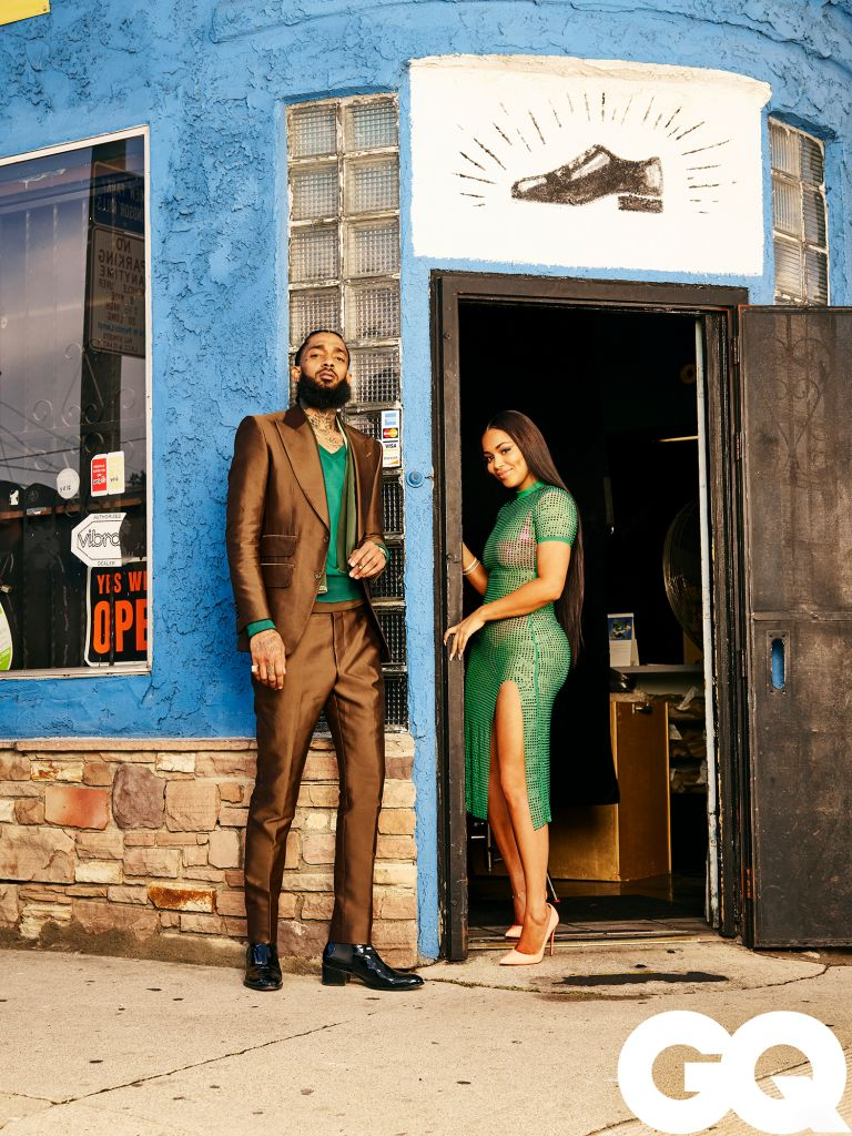 Lauren London and Nipsey Hussle