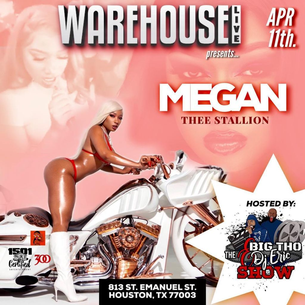 Megan Thee Stallion Live In Concert